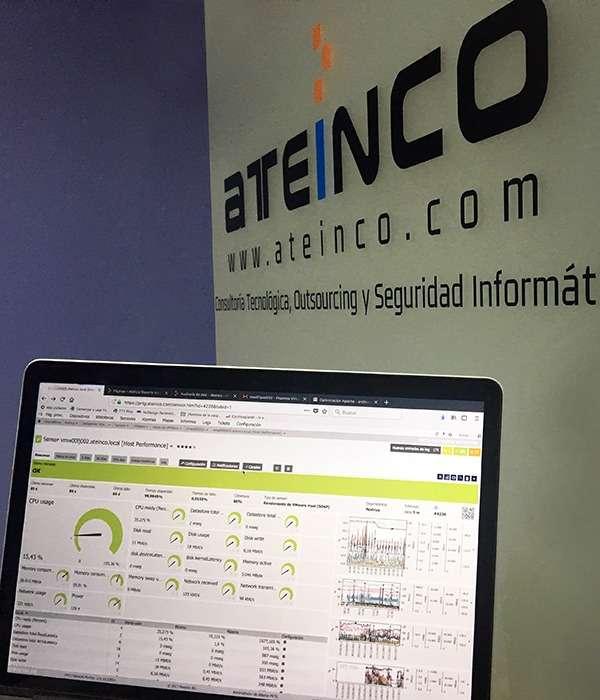 Auditoría de Red - Ateinco - Consultoría, Outsourcing y Seguridad Informática en Madrid