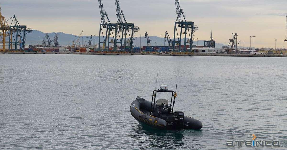 Tecnología sónar 3d para mejorar la seguridad en el puerto de Sagunto - Ateinco