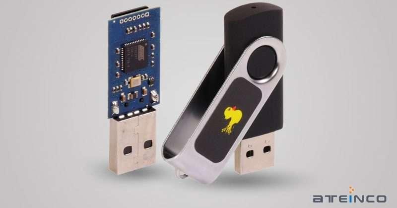 USB Rubber Ducky - Ateinco - Consultoría, Outsourcing y Seguridad Informática en Madrid