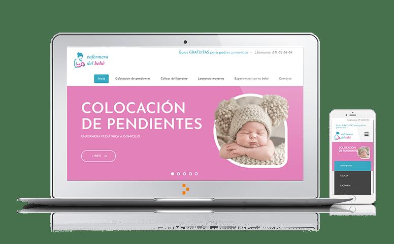 Enfermera del Bebé - Clientes - Ateinco - Consultoría, Outsourcing y Seguridad Informática en Madrid