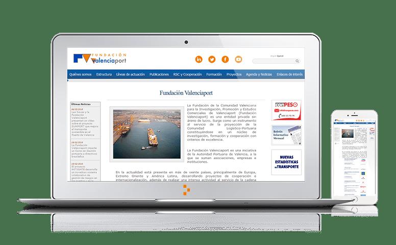 Fundación Valenciaport - Clientes - Ateinco - Consultoría, Outsourcing y Seguridad Informática en Madrid