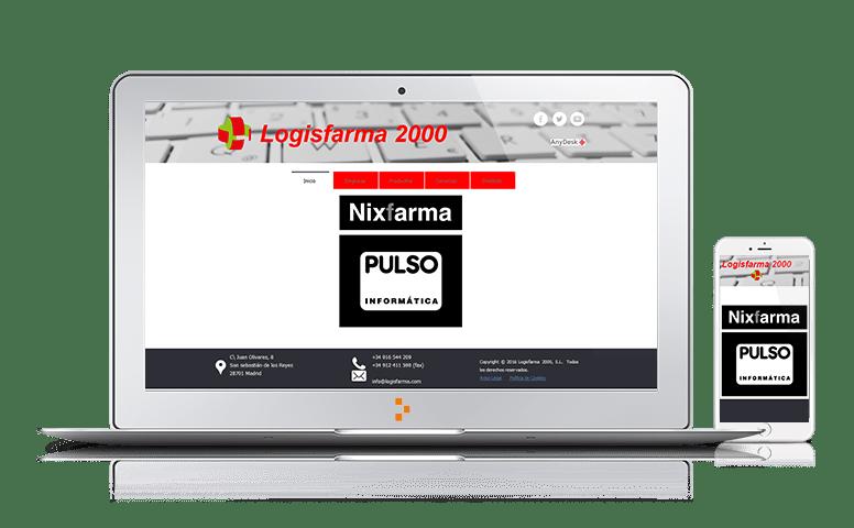 Logisfarma - Clientes - Ateinco - Consultoría, Outsourcing y Seguridad Informática en Madrid