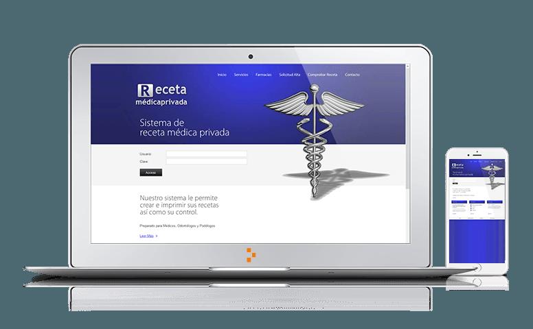 Receta Médica Privada - Clientes - Ateinco - Consultoría, Outsourcing y Seguridad Informática en Madrid