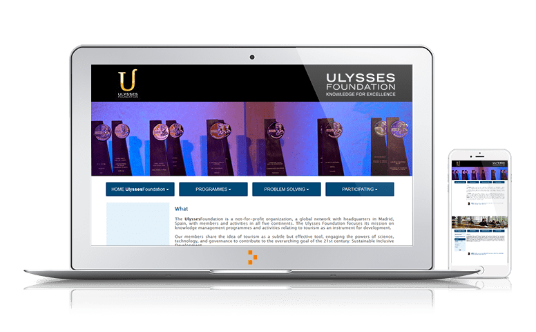 Ulysses Foundation - Clientes - Ateinco - Consultoría, Outsourcing y Seguridad Informática en Madrid