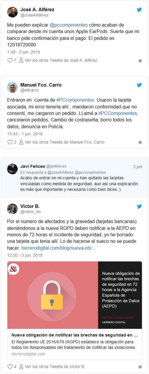 PcComponentes hackeada - Ateinco - Consultoría, Outsourcing y Seguridad Informática en Madrid