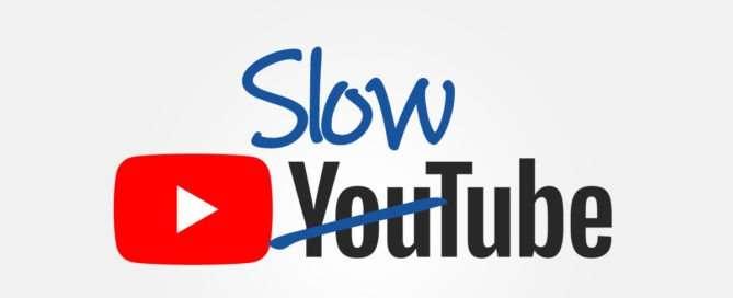 El nuevo YouTube es más lento - Ateinco