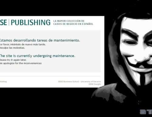 Hackean la web de la escuela de negocios IESE