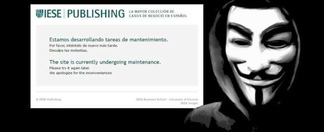 Hackean la web de la escuela de negocios IESE - Ateinco - Consultoría, Outsourcing y Seguridad Informática en Madrid